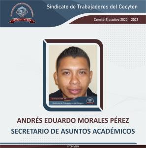 Secretario de Asuntos Académicos