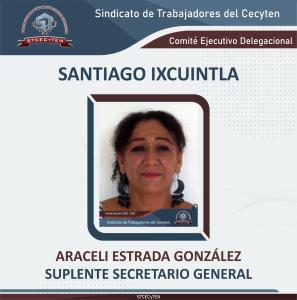 Suplente Secretario General Delegacional