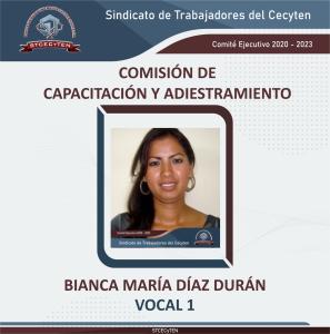 Comisión de Capacitación y Adiestramiento Vocal 1