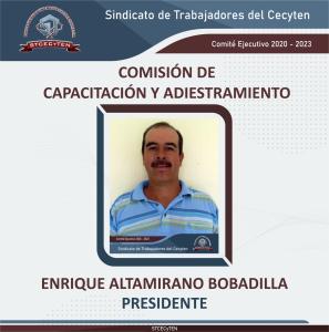 Comisión de Capacitación y Adiestramiento Presidente