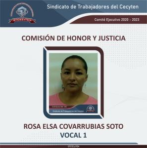 Comisión de Honor y Justicia Vocal 1
