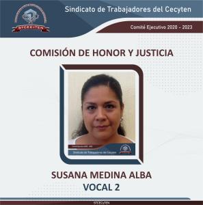 Comisión de Honor y Justicia Vocal 2