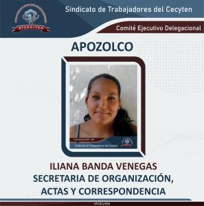 Secretario de Organización, Actas y Correspondencia