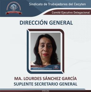 Suplente de Secretario General Delegacional