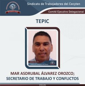 Suplente Secretario de Organización, Actas y Correspondencia