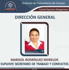 Suplente de Secretario de Trabajo y Conflicto Delegacional
