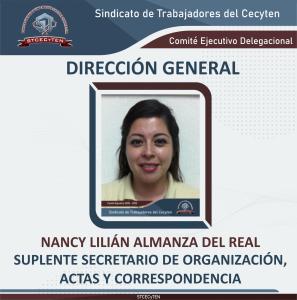 Suplente de Secretario de Organización, Actas y Correspondencia