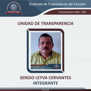 Integrante de la Unidad de Transparencia 2020 - 2023