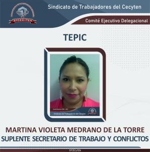 Suplente Secretario de Trabajo y Conflicto
